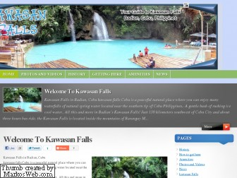 kawasanfalls.net is for sale