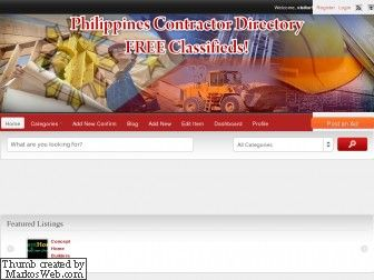 philippinescontractor.com is for sale