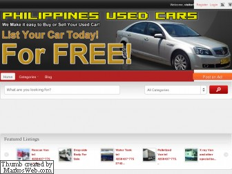 philippinesusedcars.com is for sale